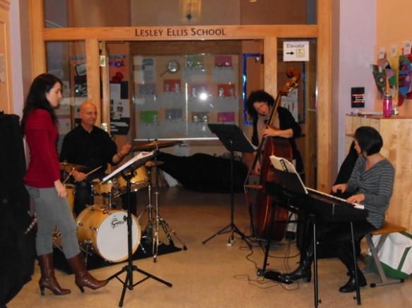 Many thanks to Dan Fox and all the players from Dan's Morningside Studio Jazz Ensemble for their music all night long!