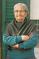 Elderly Sicilian woman. Sicily, Italy