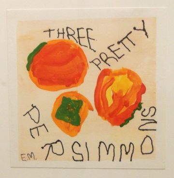 Emily Malin, Three Pretty Persimmons