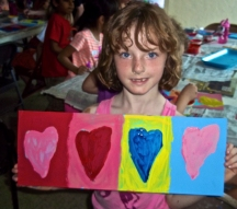 "Pop Art Project, ""Beatle Mania"" week at ACA Arts Camp"